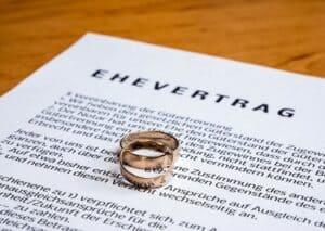 Wollen auch Sie einen Ehevertrag nachträglich abschließen?